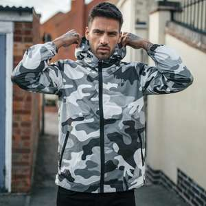 Hype Black Mono Runner Jacket (was £39.99) Now £16 + Free Delivery in the up to 60% Off sale @ Just Hype + Tees from £5.40 and more..