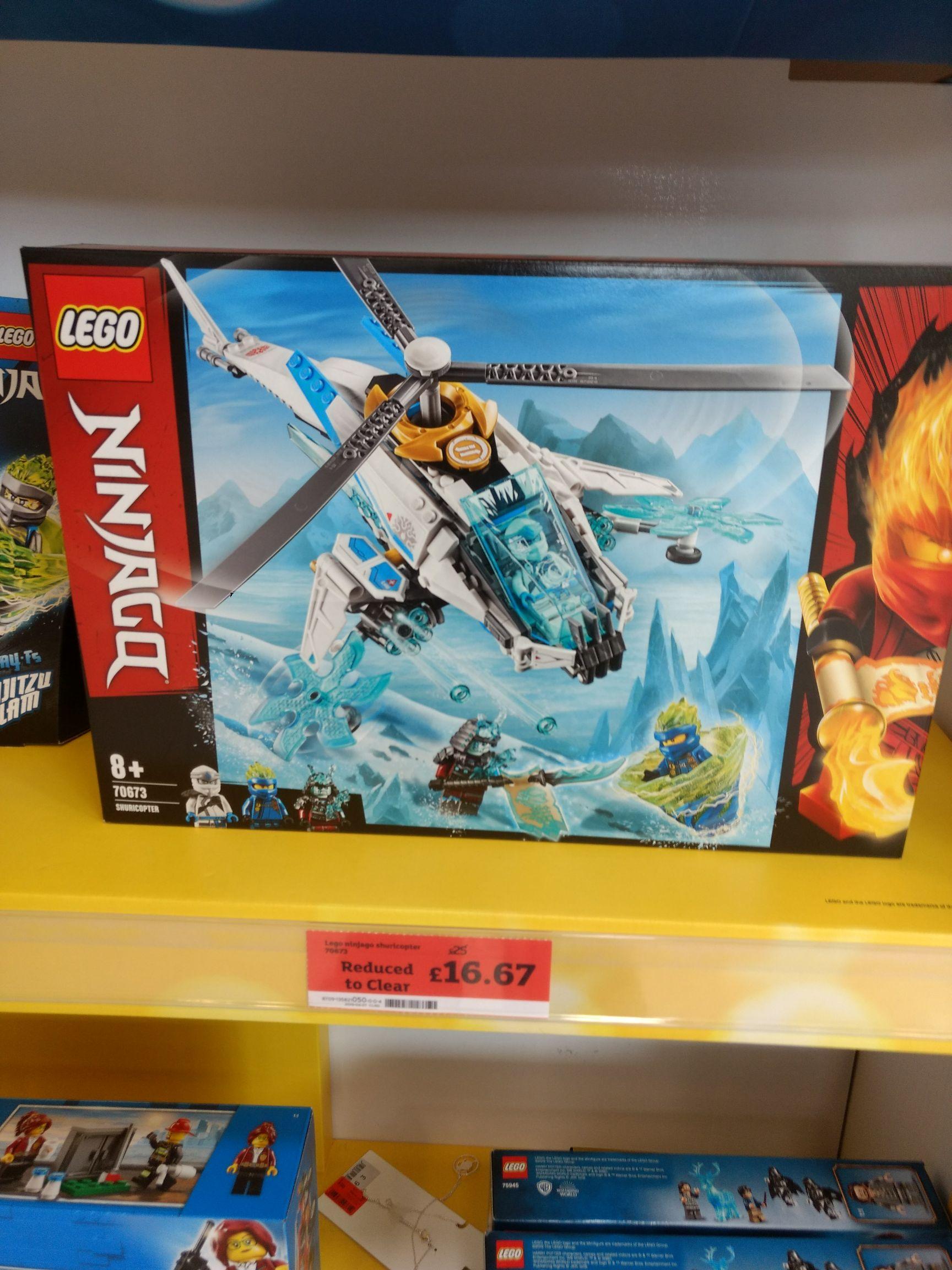 Lego Ninjago set £16.67 instore @ Sainsbury's