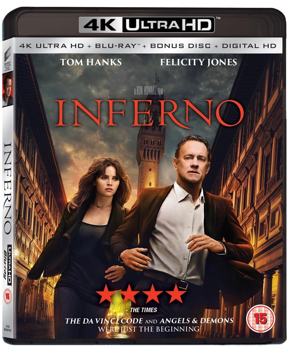 Inferno (4K Ultra HD + Blu-ray + Digital HD) [UHD] - £8.99 @ Zoom