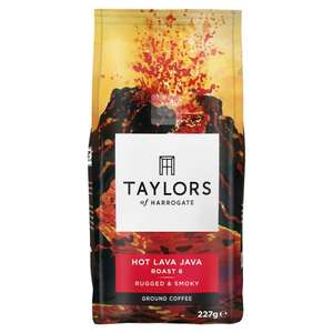 Up to 43% Saving on Taylors of Harrogate Ground Coffee (Various Blends) 6 Pack from £12.90 + £4.49 Non Prime @ Amazon