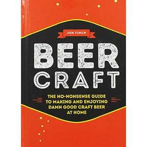 Beer Craft Hardcover Book now 50p free click and collect at The Works