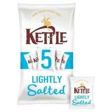 Kettle Chips Lightly Salted 5 pack (5x 30g) just £1 @ Tesco (was £1.79)