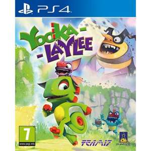 Yooka-Laylee (PS4) £6.95 Delivered @ The Game Collection