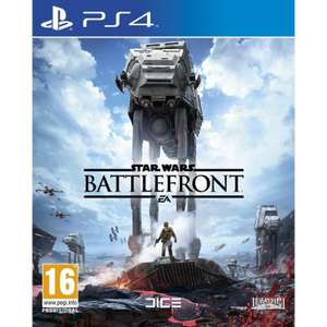 Star Wars Battlefront PS4 £2.95 from The Game Collection
