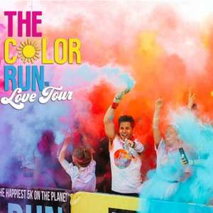 The Color Run, 7-28 September, London, Manchester and Brighton now £21 / £16.80 using code @ Groupon