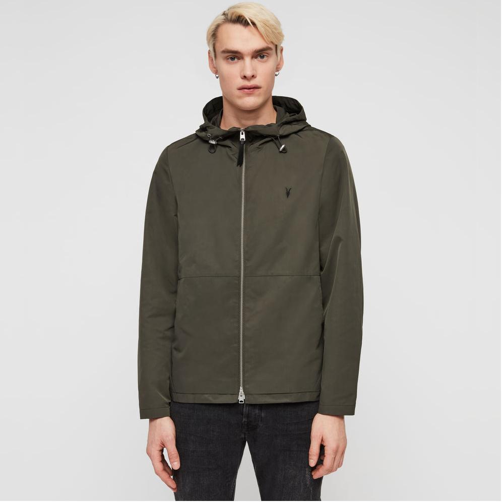 AllSaints Darley khaki Jacket - was £148 - £59.20 plus £3.95 postage