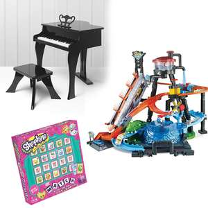 25% off £40+ Spend on Selected toys @ George - Toy Grand Piano and Stool Set + Shopkins Board Game £30.59 - Free C&C - See OP for more