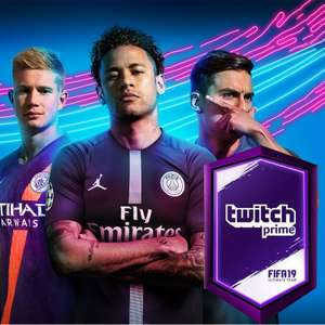[PS4/Xbox One/PC] Two Free Unique FIFA 19 Ultimate Team Packs (for Twitch Prime Members) - Twitch