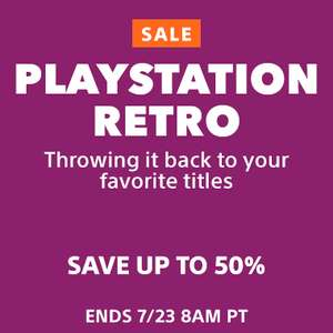 PlayStation Retro Sale at PSN Store US - Return to Arkham £6.39 Yakuza Kiwami £7.99 Tomb Raider DE £4.79 Marvel Vs Capcom 3 £9.99 + MORE