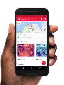 Meetup Local groups in your area Football, Yoga etc Run by like minded people - Free App @ Google Play / iTunes