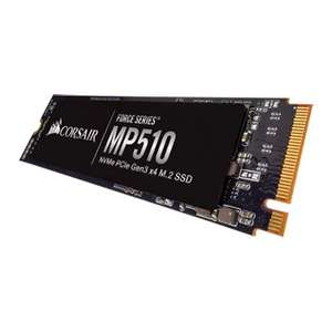 Corsair CSSD-F480GBMP510 Force Series MP510 480 GB NVMe PCIe Gen3 x 4 M.2 Solid State Drive £65.60 @ Amazon