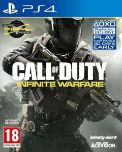 Call of Duty Infinite Warfare PS4 £2.89 Delivered from Go2Games (or £2.75 with code WELCOME5)