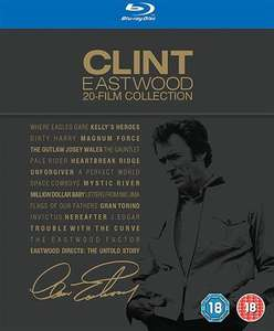 Clint Eastwood 20 Blu-ray Film Collection - used £29.50 delivered @ CEX
