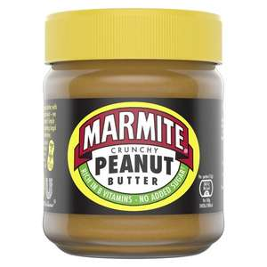 Marmite Crunchy Peanut Butter 225G @ Tesco - £2.50