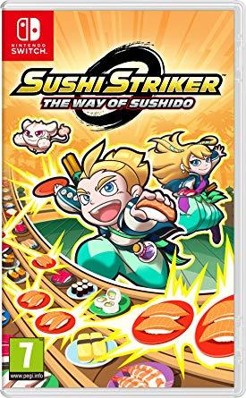 Sushi Striker The Way of Sushido - Nintendo Switch - Amazon - Prime £10.00 / Non Prime £12.99