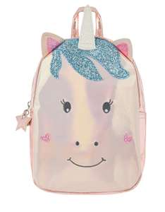 Unicorn Character Backpack £8 Free Del with code @ Accessorize