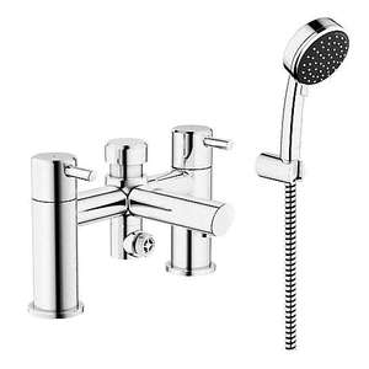Grohe Feel Chrome finish Bath shower mixer tap £50 at B&Q