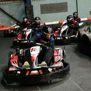 Indoor Karting for Two now just £39 (£19.50 pp) with code @ Red Letter Days