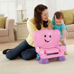 Fisher-Price Laugh & Learn Smart Stages Activity Chair - Yellow or Pink were £31.99 now £24.99 Free C&C or Free Delivery for A/H @ Smyth's