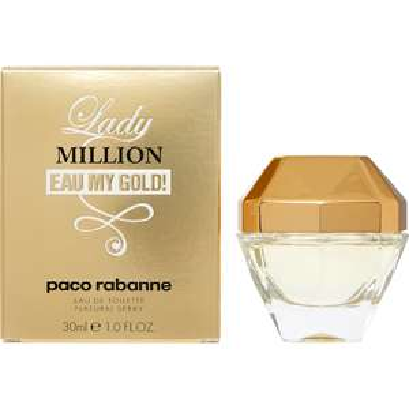 Paco Rabanne Lady Million Eau De Toilette 30ml £19.99 + £3.99 delivery @ TKMaxx