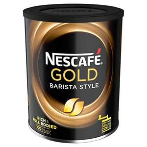 Nescafe Gold Blend Barista Style Instant Coffee Tin,180 g (Pack of 4) - £16 @ Amazon Prime / £19.99 Non prime