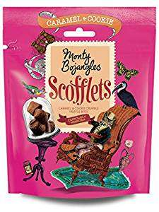 Monty Bojangles Scofflets Truffle Bites with Caramel and Cookie, 5 x 100g Packs - £2 @ Amazon - Add on Item
