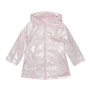 bluezoo Girls' Pink Glitter Jacket (was £30) Now £9.00 / £9.60 depending on size @ Debenhams