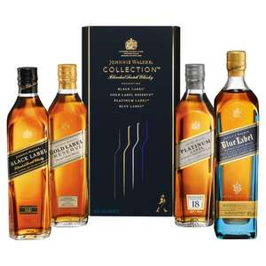 50% off Johnnie Walker Collection Pack Whisky 20cl 4 x 20cl with Ocado SMART PASS Sale £50
