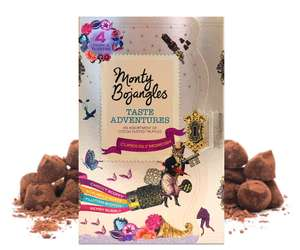Monty Bojangles Taste Adventures Cocoa Dusted Truffles Assortment, 2 x 200g Treasure Gift Boxes amazon (add on item) £4.00