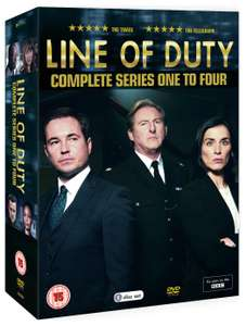 Line of Duty Series 1-4 DVD Box Set £20 from Argos