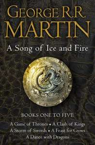 Game of Thrones Complete Kindle set (Books 1-5) £15.99 @ Amazon