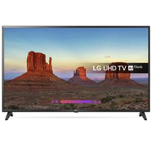 LG 55UK6200PLA 55-Inch 4K UHD HDR Smart LED TV (2018 Model) £389 @ Amazon