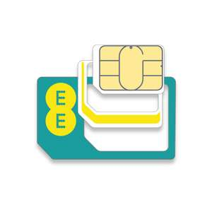 Data Sim only - 30GB for £16 per month or 50GB for £22.50 (30 days rolling contract) @ EE