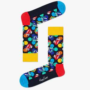 Happy Socks 'Rolling Stones' limited edition designs £5.50 John Lewis & Partners (+£2 c&c / £3.50 p&p)