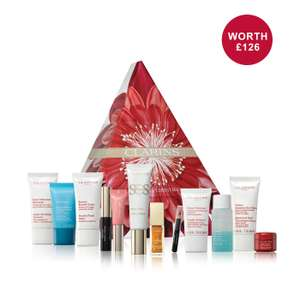 Clarins Luxury Advent Calendar reduced to £36 from £60 + 3 Free samples (possibly more)  P&P £3.95 Free on a £50 spend
