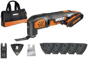 WORX WX682 18V 20V Max Sonicrafter Cordless Multi Tool - £50 @ Argos