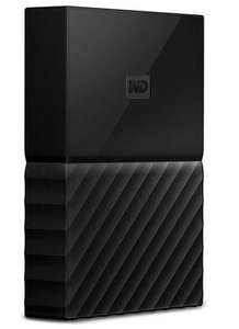 WD My Passport 4 TB Portable Hard Drive for PC, Xbox, PS4 - Black with 3 years guarantee £75 Online & In-store @ Currys