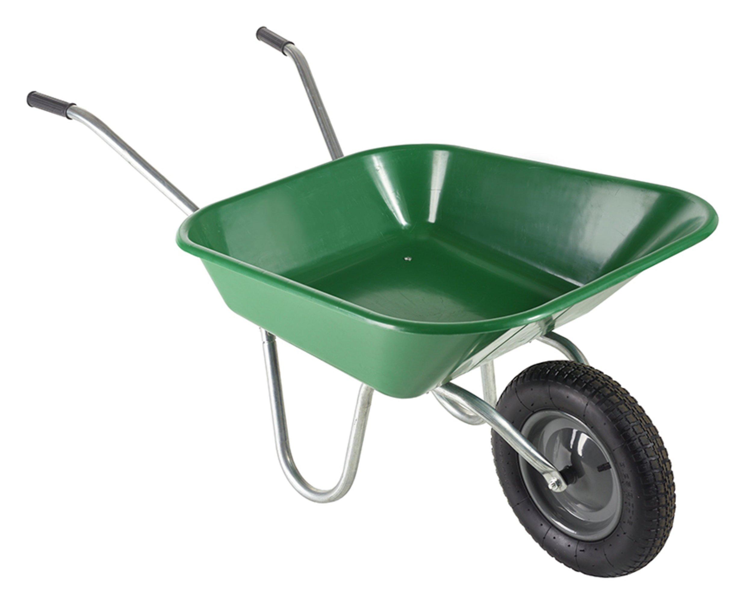 Haemmerlin 90L Polypro Wheelbarrow - Green - £20 @ Argos