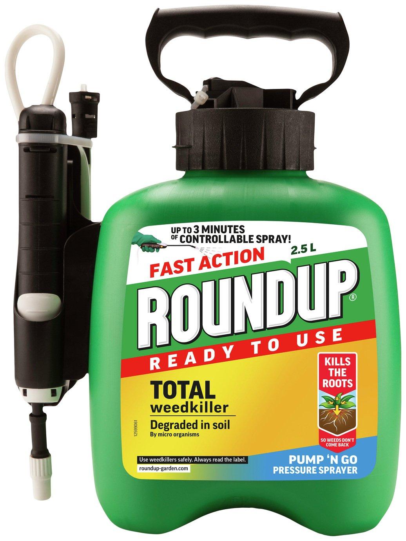 Roundup Pump & Go Weed Killer 2.5L - £6.25 @ Argos