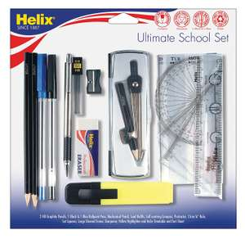 Helix Ultimate School Set now £4.99 (Prime) + £4.49 (non Prime) at Amazon