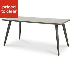 Katalla Metal 4 seater Outdoor Dining table, £21 delivered at B&Q