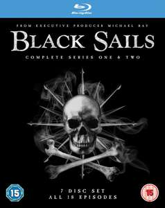 BLACK SAILS Seasons 1 & 2 Blu-Ray Boxset £7.94 (Prime) / £10.93 (non Prime) @ Amazon UK