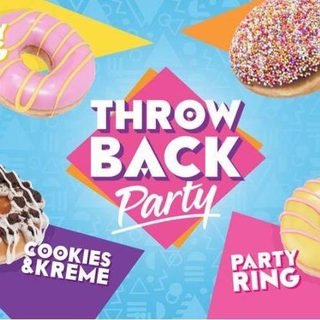 BOGOF Throw Bk Party Krispy Kreme on App and Tesco Barcode @ Krispy Kreme & Tesco instore