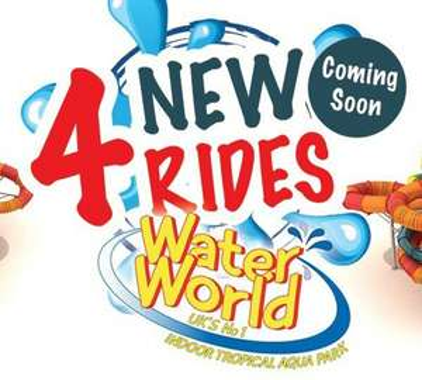 Waterworld water park Stoke half price family ticket - £30 @ Bauer Media