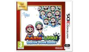 Mario and Luigi: Dream Team Nintendo Selects 3DS Game now £9.66 free click and collect at Argos