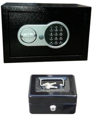Half Price Hilka 29cm Compact Digital Safe and Cash Box - £20 + Free C&C @ Argos