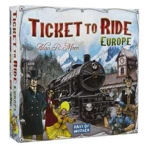Ticket To Ride Europe board game - £25.32 @ Amazon