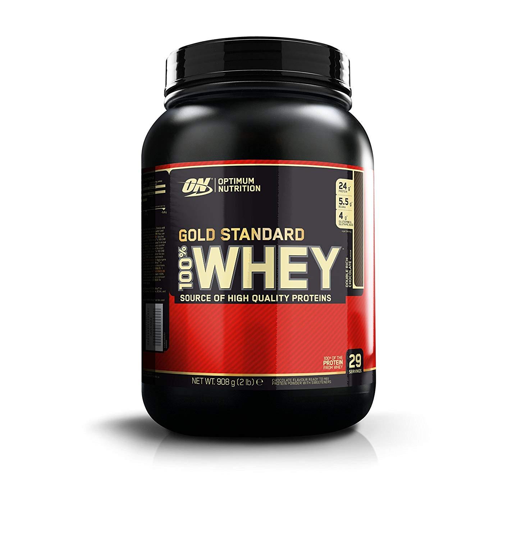 Optimum Nutrition 908g Tub Whey Protein £18.79 @ Amazon 55% OFF (+£4.49 non Prime)