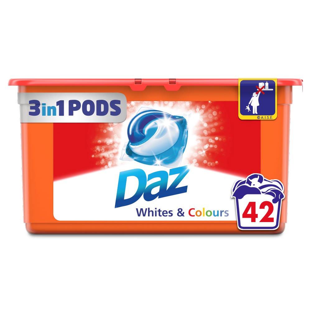 Daz Whites and Colours Liquitabs 42 Washes @ Wilko £4