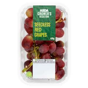 Red seedless grapes 400g - £1 instore @ Asda